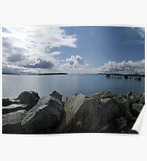 Quiet Day on Saanichton Bay Poster