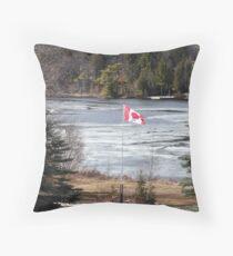 Lake Mirage, Muskoka Throw Pillow