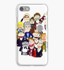 Twelve Doctors Muppet Style iPhone Case/Skin