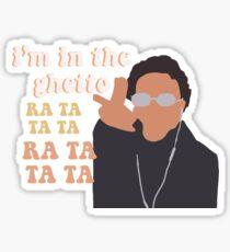 Tik Tok I'm In the Ghetto Sticker
