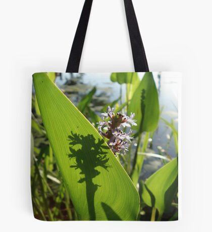 Pickerel Weed and Shadows Tote Bag