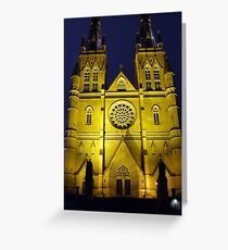 St Mary Night Greeting Card