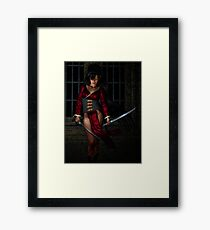 Inconvenient Hazards Framed Print