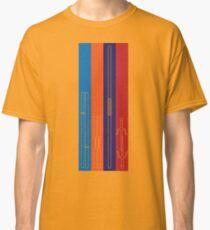 Leonardo, Michelangelo, Donatello, Raphael - Stripes Classic T-Shirt