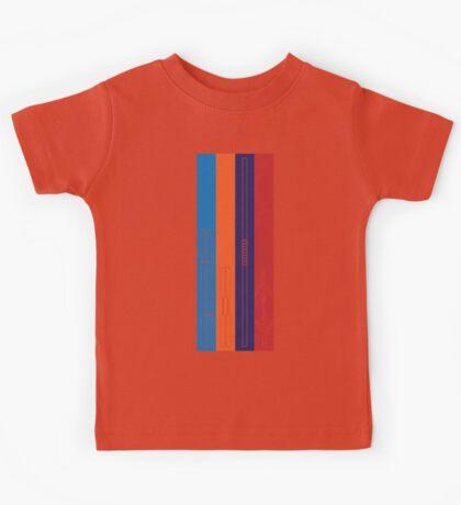 Leonardo, Michelangelo, Donatello, Raphael - Stripes Kids Clothes