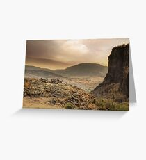 The Bluff 3/3 Greeting Card
