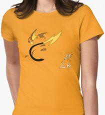 Pokemon 26 Raichu Women's Fitted T-Shirt