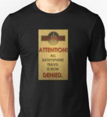 BioShock – Bathysphere Travel Denied T-Shirt