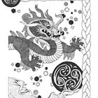 Celestial Dragon by redqueenself