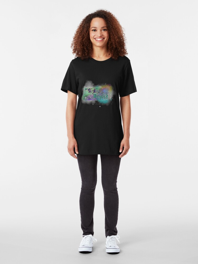 Alternate view of I Believe In Magick Slim Fit T-Shirt