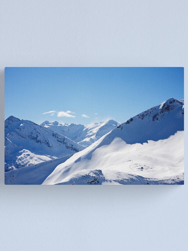 Alternate view of Gasteinertal Alps #3 Canvas Print