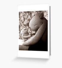 L' Monkey Greeting Card