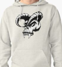 Plague Skull Pullover Hoodie