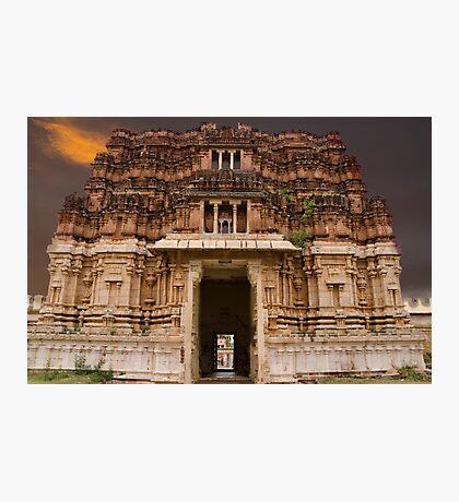 Thiruvallarai Temple Photographic Print