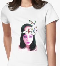 Musical Genius Tee Womens Fitted T-Shirt