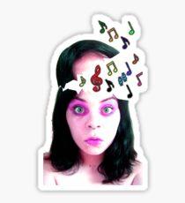 Musical Genius Tee Sticker