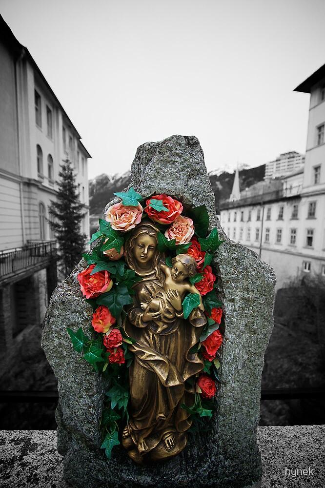 Mary On The Bridge by hynek