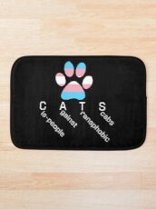 CATS 2 - Cis-people against Transphobia Bath Mat