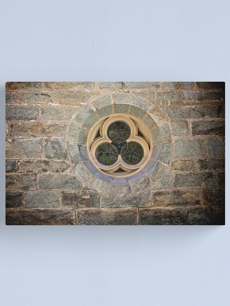 Alternate view of Parish Church Window Canvas Print