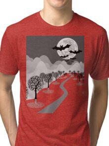 Happy Haunting Tri-blend T-Shirt