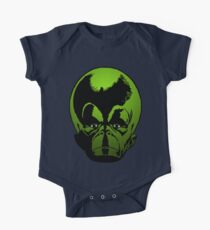 Big Green Mekon Head the second One Piece - Short Sleeve