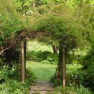 The Garden Entrance by Sally Kady