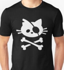 Pirate Cat: Skull and Crossbone T-Shirt