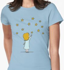 Reaching for the stars Womens Fitted T-Shirt