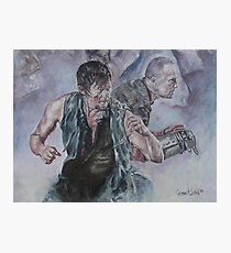 TWD Daryl and Merle Dixon Photographic Print