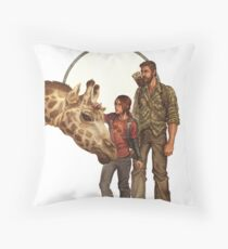 The Last of Us - Giraffe Throw Pillow