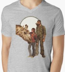 The Last of Us - Giraffe Men's V-Neck T-Shirt