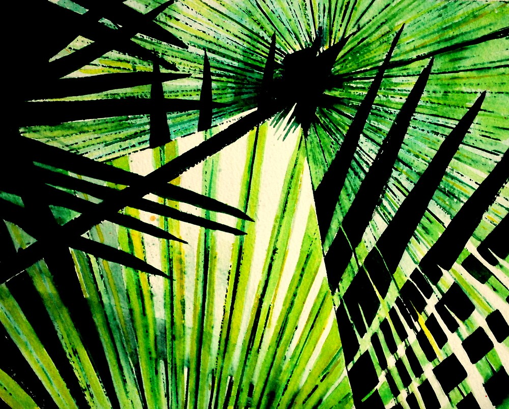 Palm Leaves by Lynn Hughes