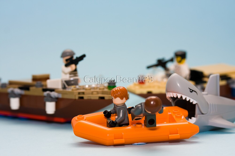 Shark attack... by CalypsoBean123