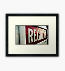Regular Framed Print