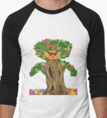 Mother Nature Men's Baseball ¾ T-Shirt