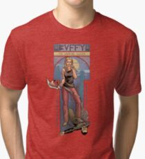 BUFFY THE VAMPIRE SLAYER - BEEP ME Tri-blend T-Shirt