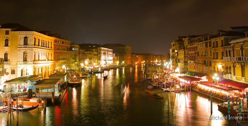 Four Seconds in Venice - view from the Ponte di Rialto by Michael Irrera