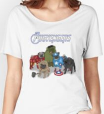 The Pugvengers Women's Relaxed Fit T-Shirt