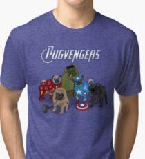 The Pugvengers Tri-blend T-Shirt