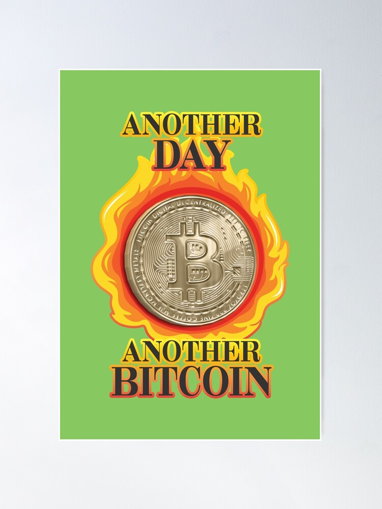 Alternate view of Bitcoin Investor. Poster