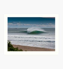 Wollongong City Beach Art Print