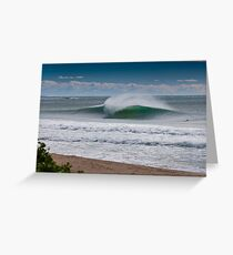 Wollongong City Beach Greeting Card