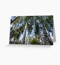 Kauri rickers-Puketi Forest Greeting Card