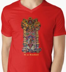 4 a Saint Mens V-Neck T-Shirt