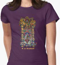 4 a Saint Women's Fitted T-Shirt