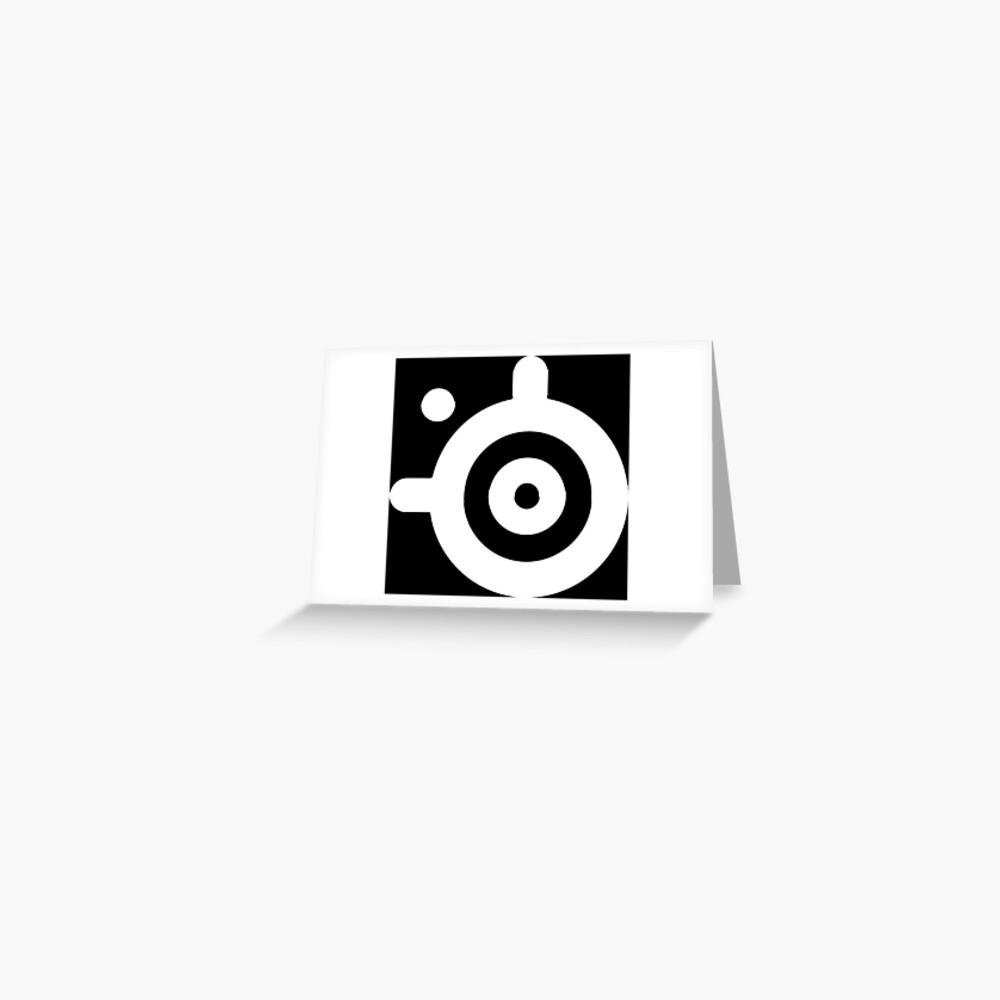 SteelSeries Logo Greeting Card