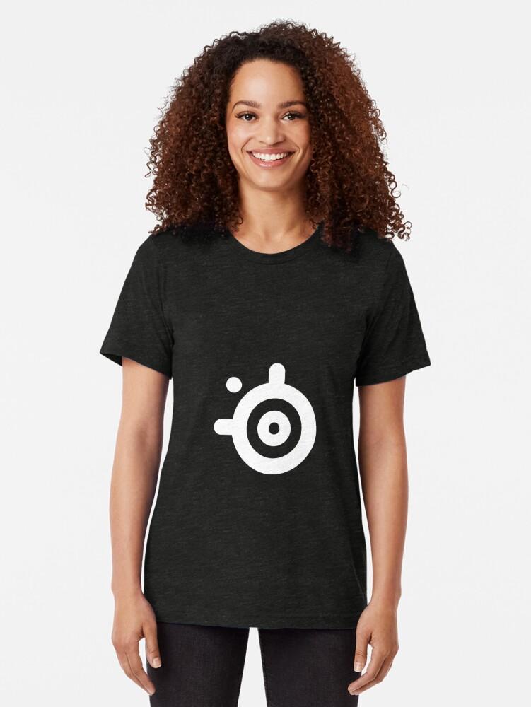 Alternate view of SteelSeries Logo Tri-blend T-Shirt