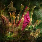 Flowers and Butterflies by Terrie Taylor