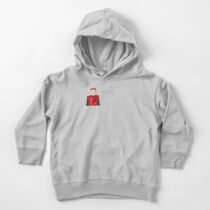 Captain Scarlet Icon Toddler Pullover Hoodie