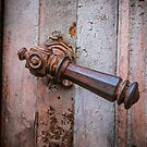 Rusty Handle by Dave Hare